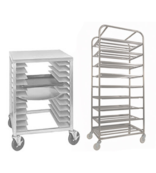 Metal Rack and Trays