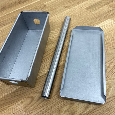 Cake Tin with cylinder